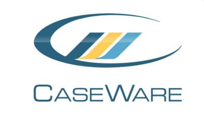 The logo of our new partner, CaseWare