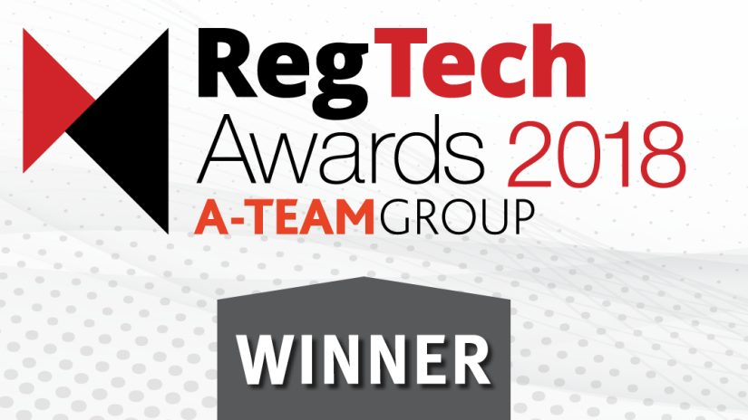 Reg Tech awards 2018 Velocity Analytics
