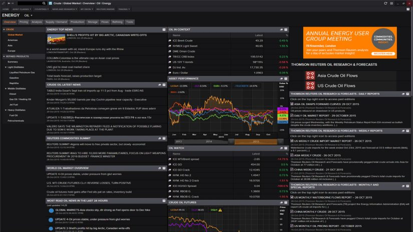 Energy Trading Oil Market News screenshot