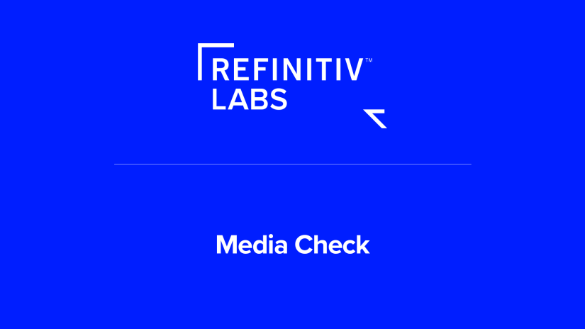 Refinitiv Labs Media Check poster image